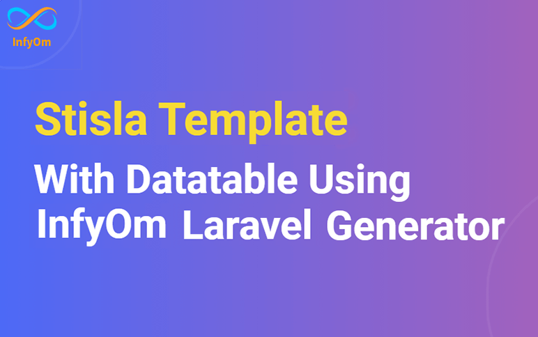 Stisla Templates with JQuery Datatables