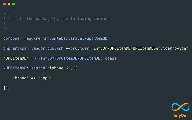 Laravel UPCItemDB Package