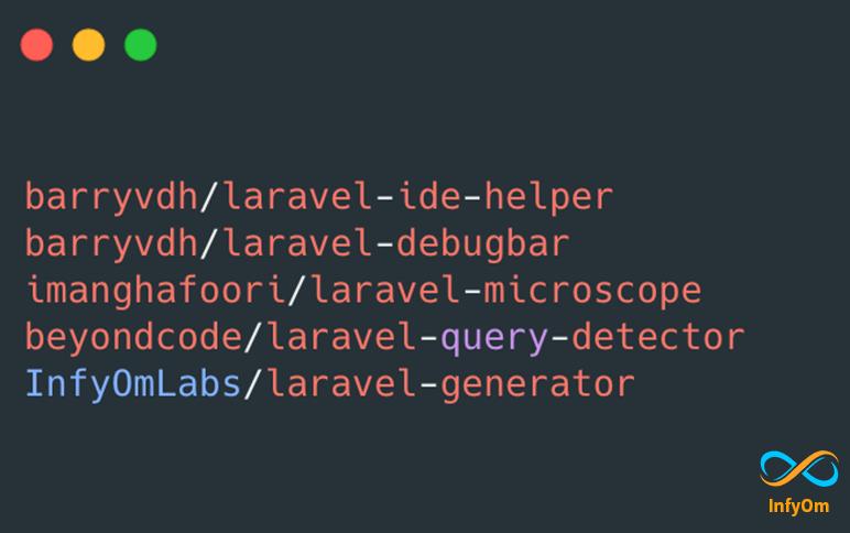 Laravel Packages we use everyday at InfyOm