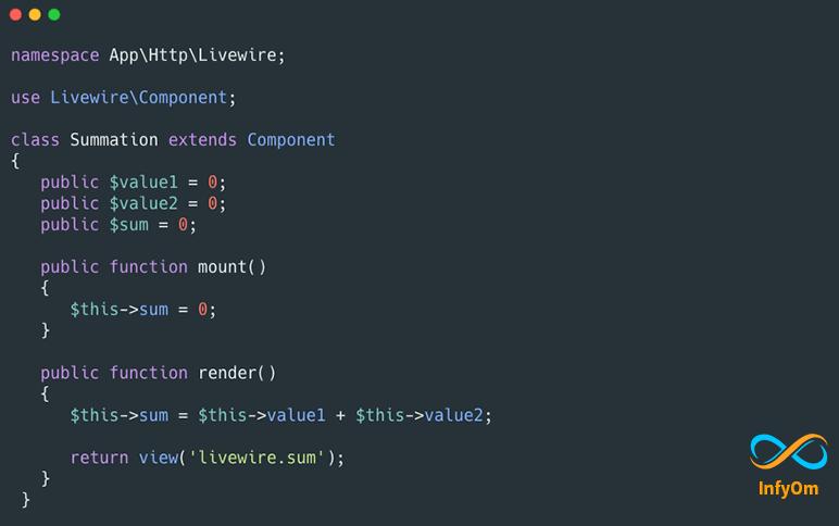 Setup Laravel Livewire with Basic Component Example