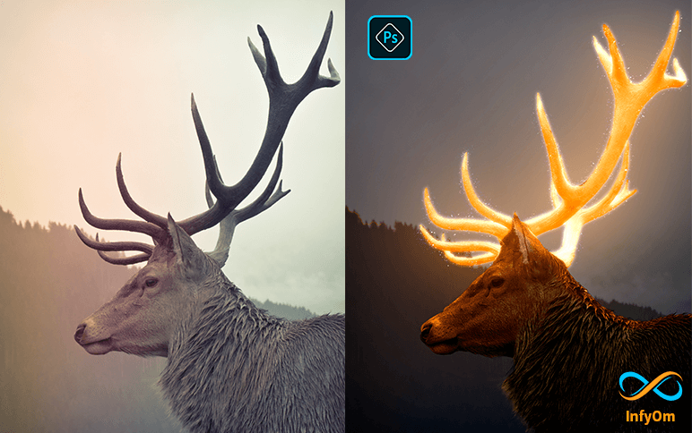How to create glow effect in photoshop