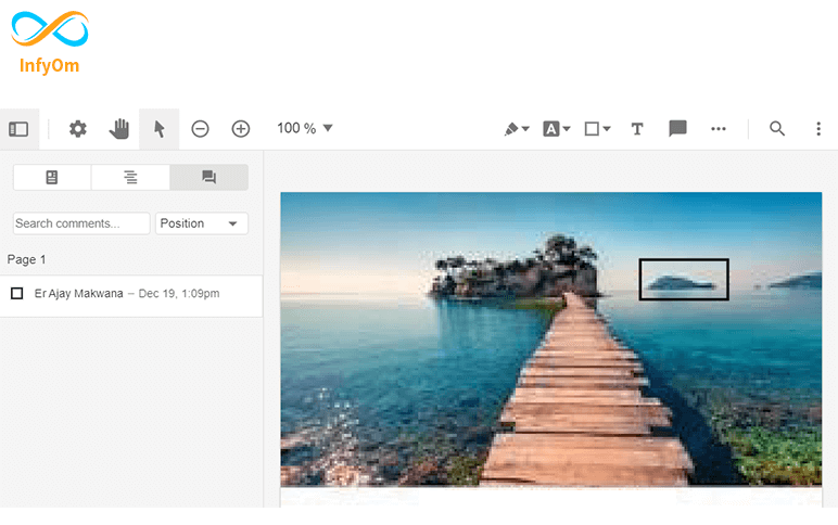 Export annotations of PDFTron using jquery