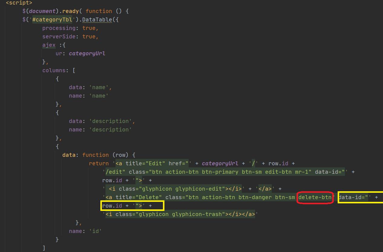 delete-record-using-ajax-in-laravel/1
