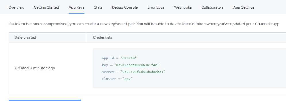 App Keys