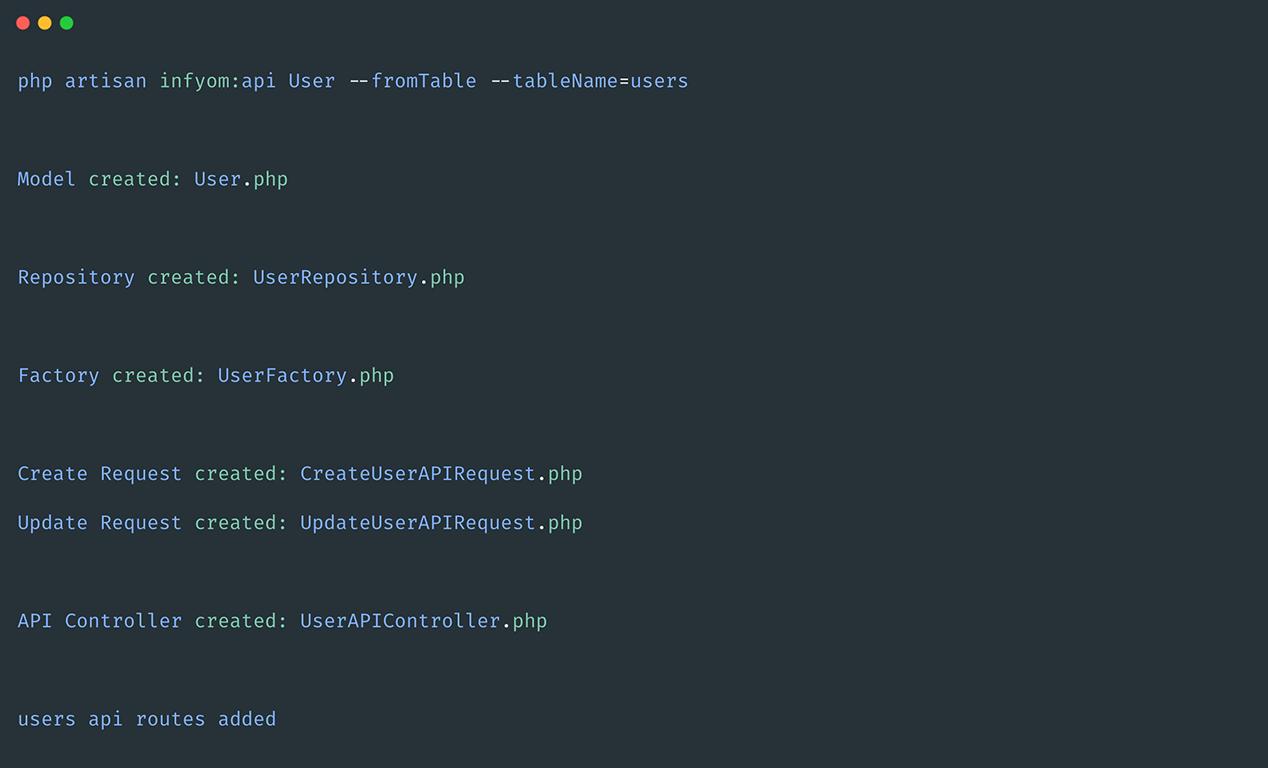 Generate Database Generator